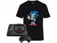 Mega Drive 1 Controle Tectoy – 22 Jogos na Memória