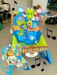 Cadeira de Descanso Bouncer Minha Infância Sapinho – Fisher Price