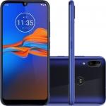"Smartphone Motorola Moto E6 Plus 64GB Dual Chip Android Pie – 9.0 Tela 6.1"" Helio P22 4G Câmera 13Mp + 2MP – Azul Netuno"