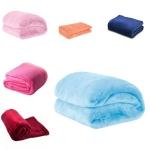 Cobertor Manta Casal Microfibra Anti Alérgica Rosa – Casa Allegra