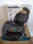 Sanduicheira Mondial Fast Grill e Sandwich – Preto 750W 110V