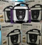 Panela de Pressão Elétrica Mondial Pratic Cook – PE-26 700W 3L Timer Controle de Temperatura 110V
