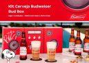 Kit Cerveja Budweiser Bud Box Lager 4 Unidades – 330ml com Copo e Porta Copo