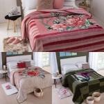 Cobertor Casal Dyuri – Melville Vinho Rosa
