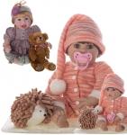 Bebê Reborn Laura Baby Miguel Shiny Toys