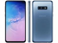 """– Smartphone Samsung Galaxy S10e 128GB Azul 4G – 6GB RAM Tela 5,8"""" Câm. Dupla + Câm. Selfie 10MP Azul"""