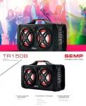 Caixa de Som Bluetooth Semp TR150B Portátil – Amplificada 150W USB