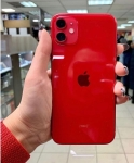 "iPhone 11 Apple 128GB Product Red 4G Tela 6,1"" – Retina Câm. Dupla 12MP + Selfie 12MP iOS 13"
