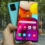 """Smartphone Samsung Galaxy A71 128GB Preto 6GB RAM – Tela 6,7"""" Câm. Quádrupla Câm. + Selfie 32MP Preto"""
