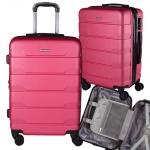 Mala de Bordo em ABS Com 4 Rodas 360 – Gold (Pink)