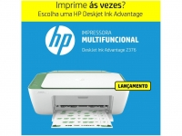 Impressora Multifuncional HP DeskJet Ink Advantage – 2376 Jato de Tinta Colorida