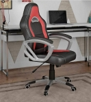 Cadeira Gamer Travel Max Reclinável – Preta e Vermelha