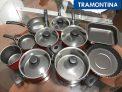 Conjunto De Panela Antiaderente Turin 10 Peças Vermelha – Tramontina