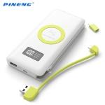 Carregador Portátil 10.000Mah LED Wireless Quick Charge 3.0 – Pineng