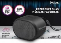 Caixa de Som Philco PBS05BT Bluetooth – Portátil 8W USB
