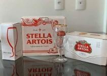 Kit Stella Artois American Standard Lager – 269ml Cada 8 Unidades com 1 Taça