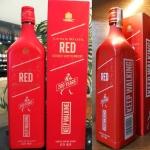 Whisky Johnnie Walker Red Label 1L Embalagem Comemorativa de 200 anos