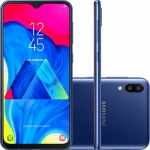 Smartphone Samsung Galaxy M10 32GB Dual Chip Android 9.0 Tela 6,2″ Octa-Core 4G Câmera 13+5MP – Azul