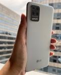 "Smartphone LG K62+ 128GB Branco 4G Octa-Core – 4GB RAM Tela 6,59"" Câm. Quádrupla + Selfie 28MP"