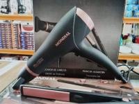Secador de Cabelo Mondial Preto com Íons – 2000W 2 Velocidades Black Rose