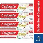 Creme Dental Colgate Total 12 Clean Mint 90G Promo Leve 4 Pague 3