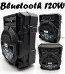 Caixa de Som Lenoxx CA 80 Bluetooth Portátil – Amplificada 120W USB