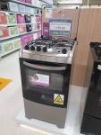 Fogão 4 Bocas Electrolux Prata – Acendimento Automático 52LXU
