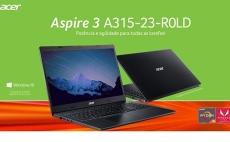 NOTEBOOK ACER 15.6 A315-23-R0LD AMD RYZEN 5-3500U HD1TB 12GB RAM WIN10H