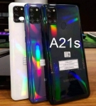 "Smartphone Samsung Galaxy A21s 64GB Azul 4G – 4GB RAM 6,5"" Câm. Quádrupla + Selfie 13MP"