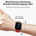 Relógio Inteligente Smartwatch com Bluetooth Cores Preto, Azul, Vermelho e Roxo