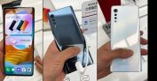 "Smartphone LG Velvet 128GB Aurora White Octa-Core – 6GB RAM Tela 6,8"" Câm. Tripla + Selfie 16MP"