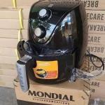 Fritadeira Elétrica sem Óleo/Air Fryer Mondial – New Pratic AF-31 Preto 3,5L com Timer