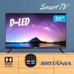 "Smart TV HD D-LED 32"" Britania BTV32G70N5CBLH – Wi-Fi 2 HDMI 1 USB"