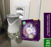 Difusor de Aromas Elétrico Bom Ar Lavanda e Gerânio Aparelho + Refil