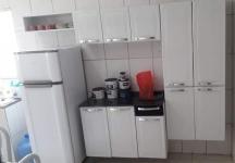 Cozinha Compacta Itatiaia Rose 7 Portas Aço e – Balcão com Tampo 3 Portas 1 Gaveta