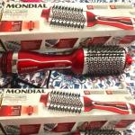 Escova Secadora Mondial 1200W com Íons – 3 Velocidades Silver Red ES-07