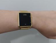 Relógio Condor, Pulseira de Aço, Adulto Unissex, Dourado