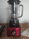 Liquidificador Philco PLQ912P Inox Red – Preto e Vermelho com Filtro 12 Velocidades 1200W