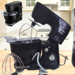 Batedeira Planetária Philips Walita Preta 650W – RI7912/91 10 Velocidades
