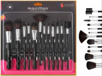 Kit 12 Pincéis Profissional Maquiagem Pincel Macrilan KP9-1A