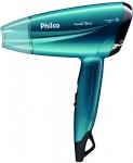 Secador de cabelo, Compact travel blue Psc02, 1200w, Azul, Bivolt, Philco