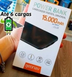 Carregador Portátil/Power Bank Geonav 15000mAh