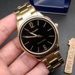 Relógio Casio Collection Unissex Dourado Analógico MTP-V005G-1BUDF
