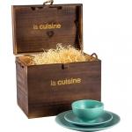 Aparelho de Jantar 18 peças Cerâmica Verano Verde – La Cuisine