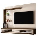 Painel Suspenso para TV de 50″ Frizz Select – Madetec – Off white / Savana