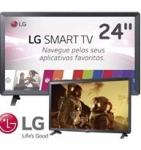 LG 24TL520S Smart TV Monitor 24″ LED Wi-Fi WebOS 3.5 DTV Time Machine Ready, Preto
