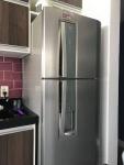Geladeira/Refrigerador Electrolux Frost Free Inox – Duplex 380L Painel Touch DW42X11089 110V