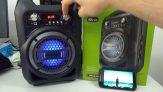 Caixa De Som Multilaser Portátil 4 Polegadas Bluetooth/FM/SD/P2/USB Preta – SP256