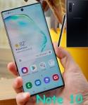 Smartphone Samsung Galaxy Note 10 256GB Dual Chip Android 9.0 6.3″ Octa-Core 4G Câmera 12 MP + 16 MP + 12 MP – Preto