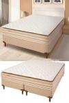Cama Box Casal (Box + Colchão) Reconflex – Molas Ensacadas/Pocket 28cm de Altura Prisma
